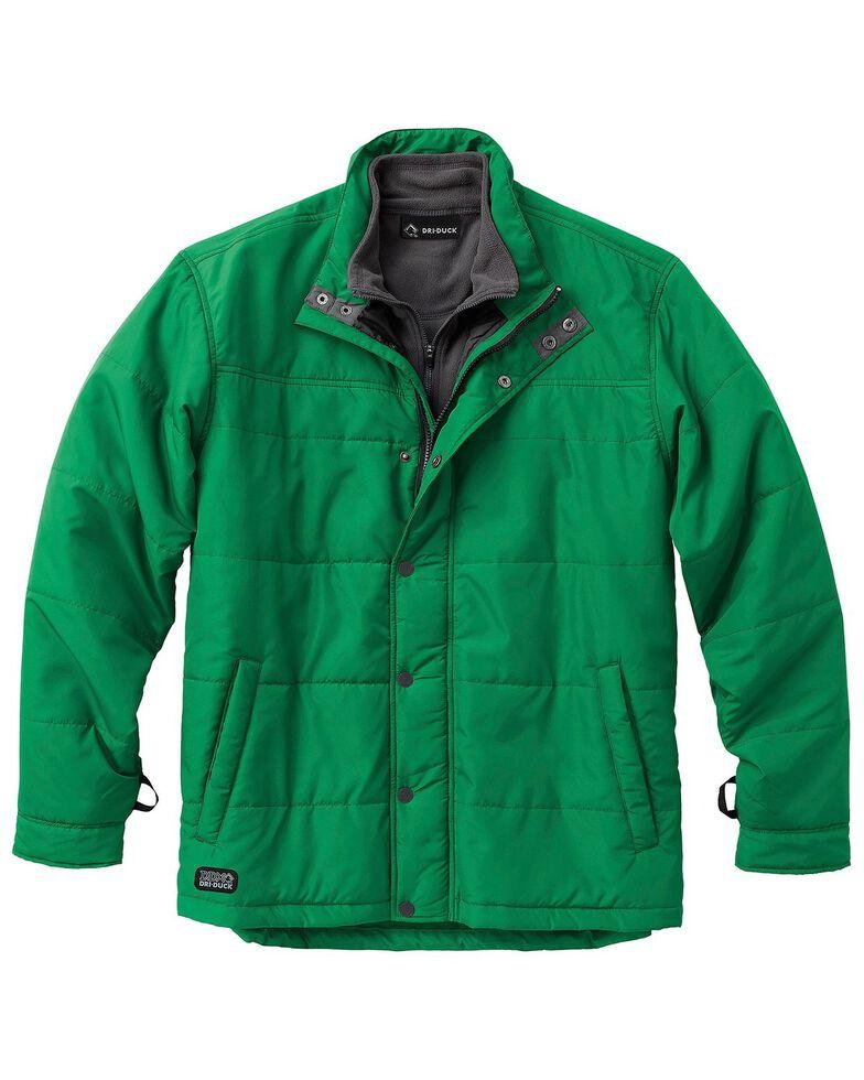 Dri Duck Men's Traverse Polyester Jacket - 3X & 4X, Leaf, hi-res