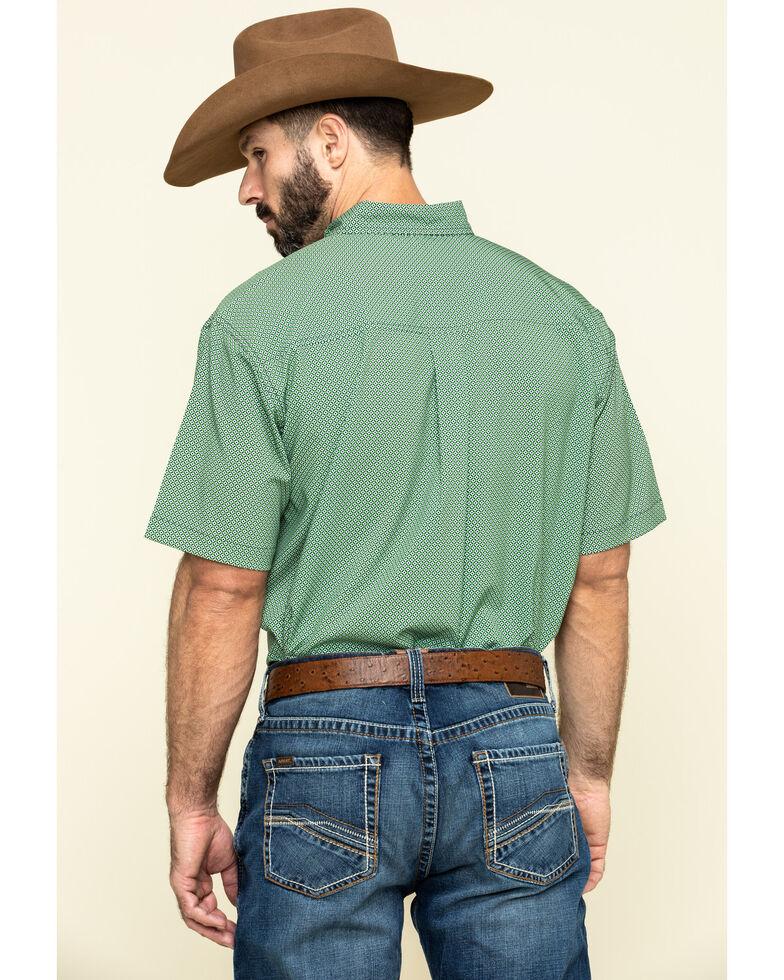 Cinch Men's Arena Flex Multi Geo Print Short Sleeve Western Shirt , Multi, hi-res