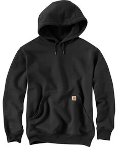 Carhartt Rain Defender Paxton Heavyweight Hooded Sweatshirt - Big & Tall, Black, hi-res