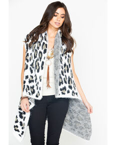 Shyanne Women's On The Prowl Cardigan, Black, hi-res
