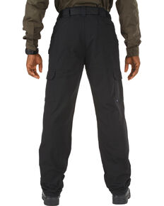 5.11 Tactical Pants - Cotton - Unhemmed - Big Sizes (46-54), Black, hi-res