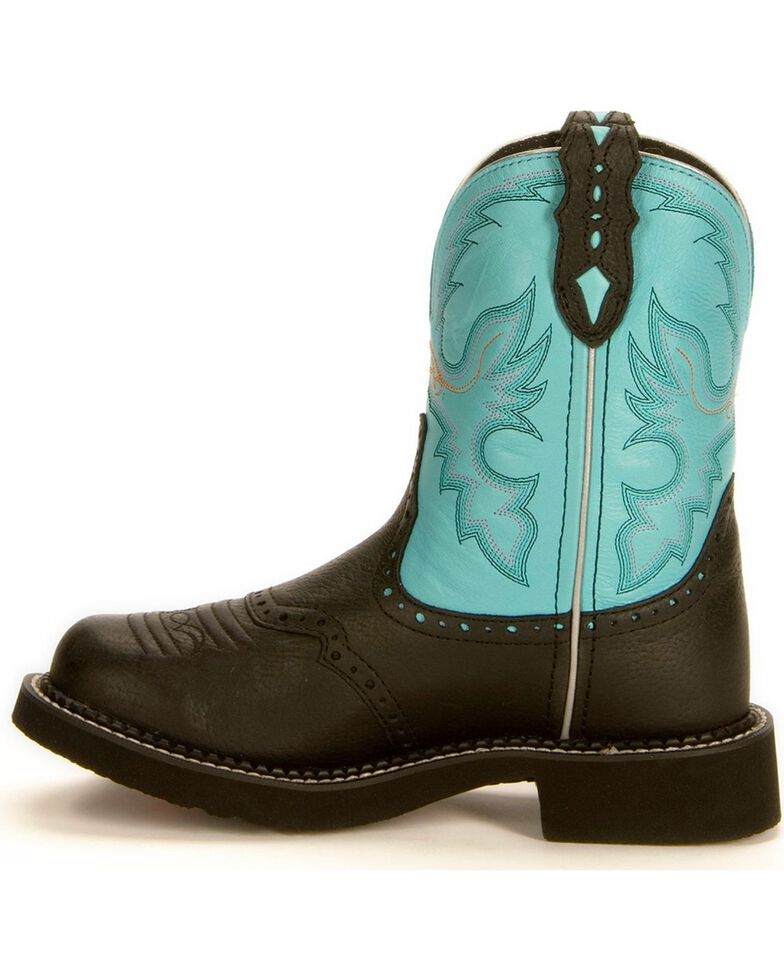 Justin Women's Gypsy Collection Western Boots, Black, hi-res