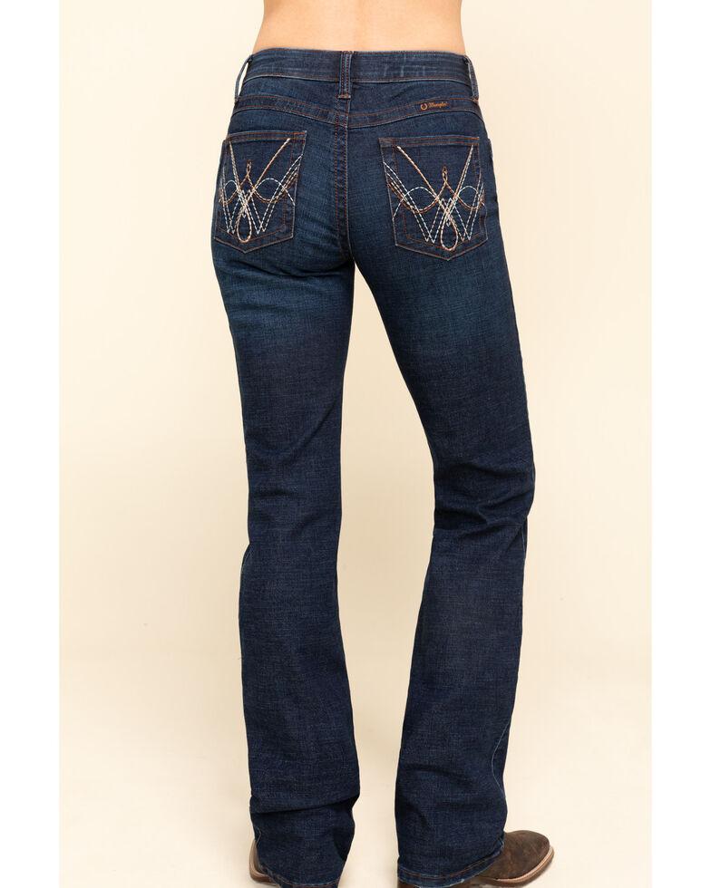 Wrangler Women's Dark Wash QBaby Bethanny Bootcut Jeans , Blue, hi-res
