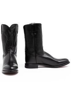 """Justin Men's 10"""" Corona Roper Boots, Black, hi-res"""
