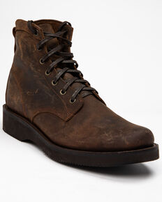 Cody James Men's Wedge Dark Horse Chukka Boots - Round Toe, Brown, hi-res