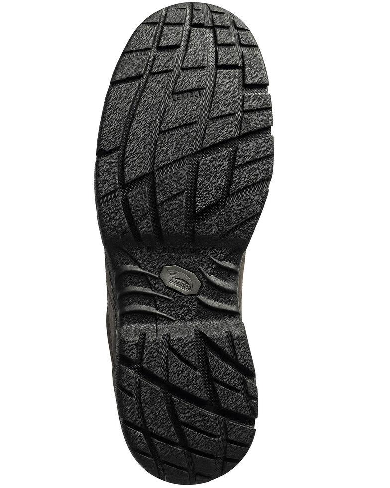 Avenger Men's Slip Resistant Oxford Work Shoes - Steel Toe, Black, hi-res