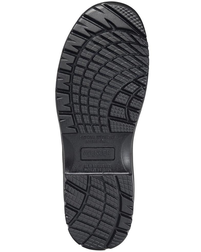 Avenger Men's Brown Breaker Work Boots - Composite Toe, Brown, hi-res