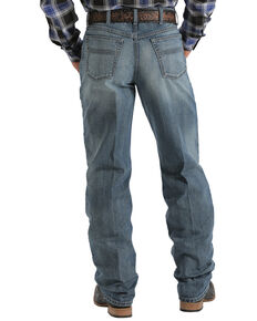 Cinch Men's Black Label 2.0 Stonewash Jeans, Med Stone, hi-res