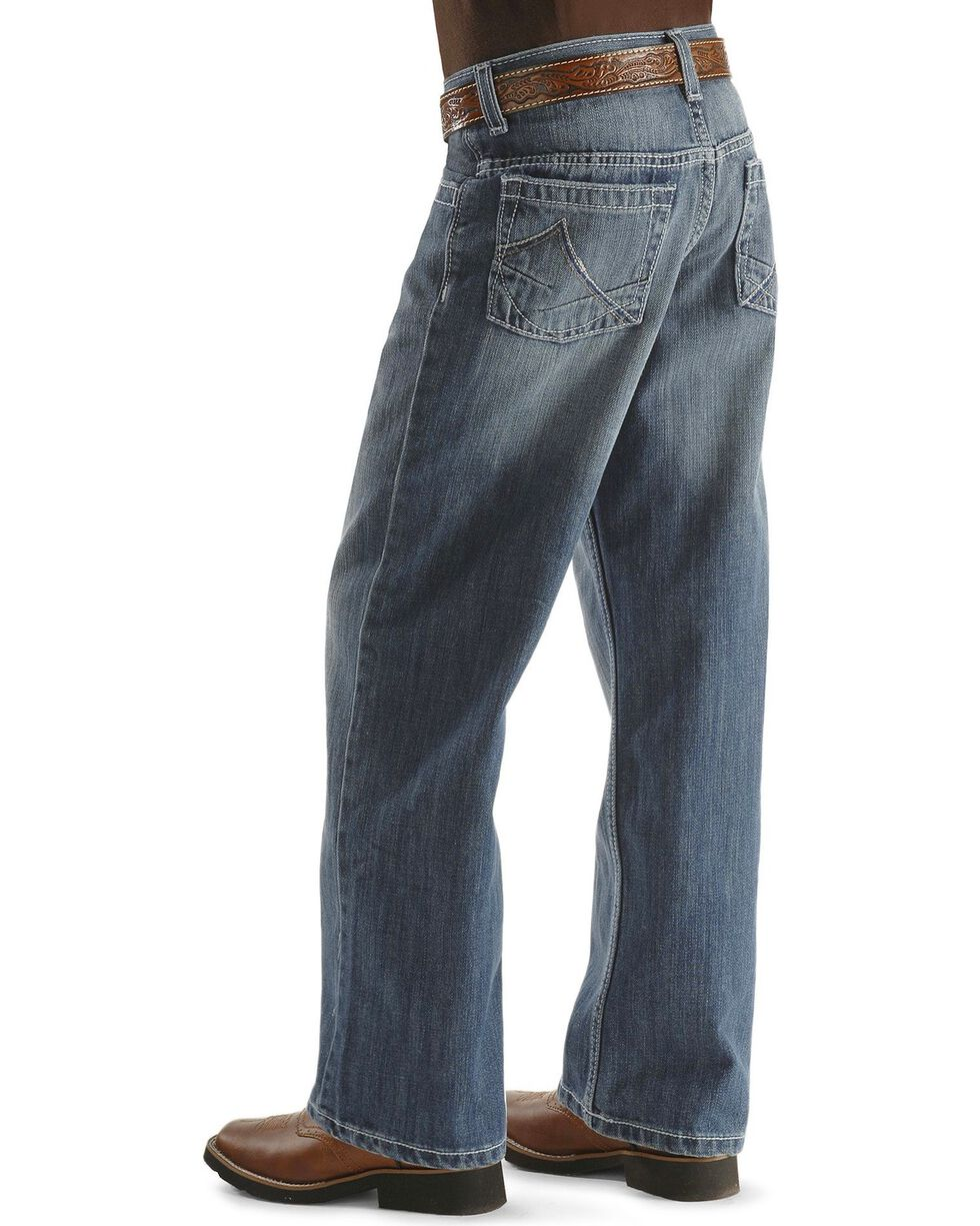 Wrangler 20X Jeans - No. 33 Extreme Relaxed Fit - Boys' 8-16 Regular, Denim, hi-res