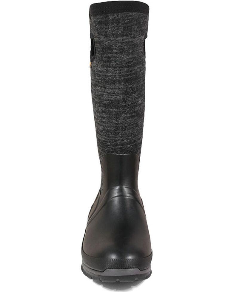 Bogs Women's Crandal Tall Rubber Boots - Round Toe, Black, hi-res