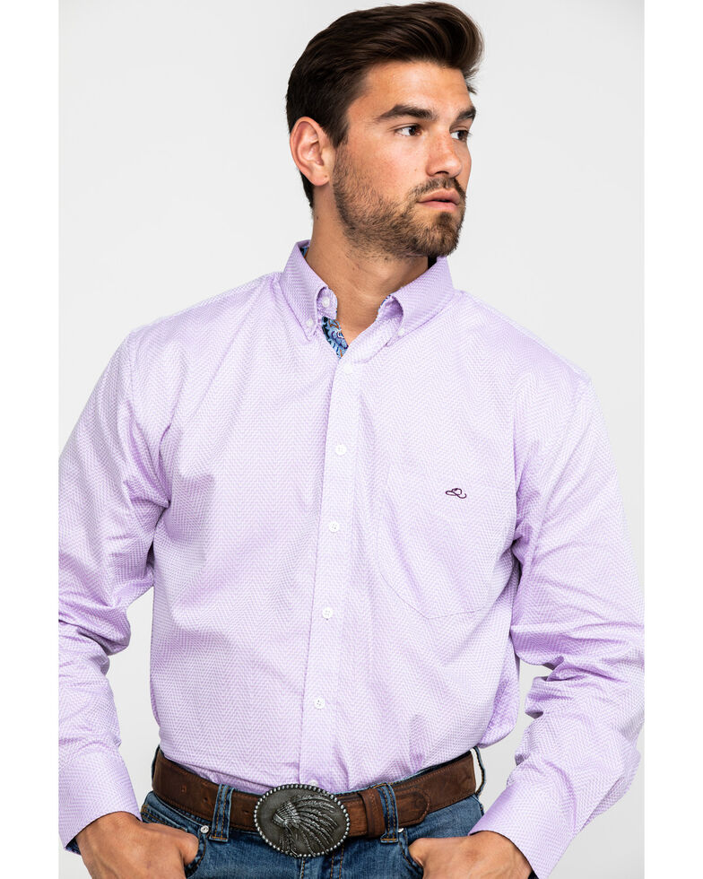 Resistol Men's Oakley Aztec Print Long Sleeve Western Shirt , , hi-res