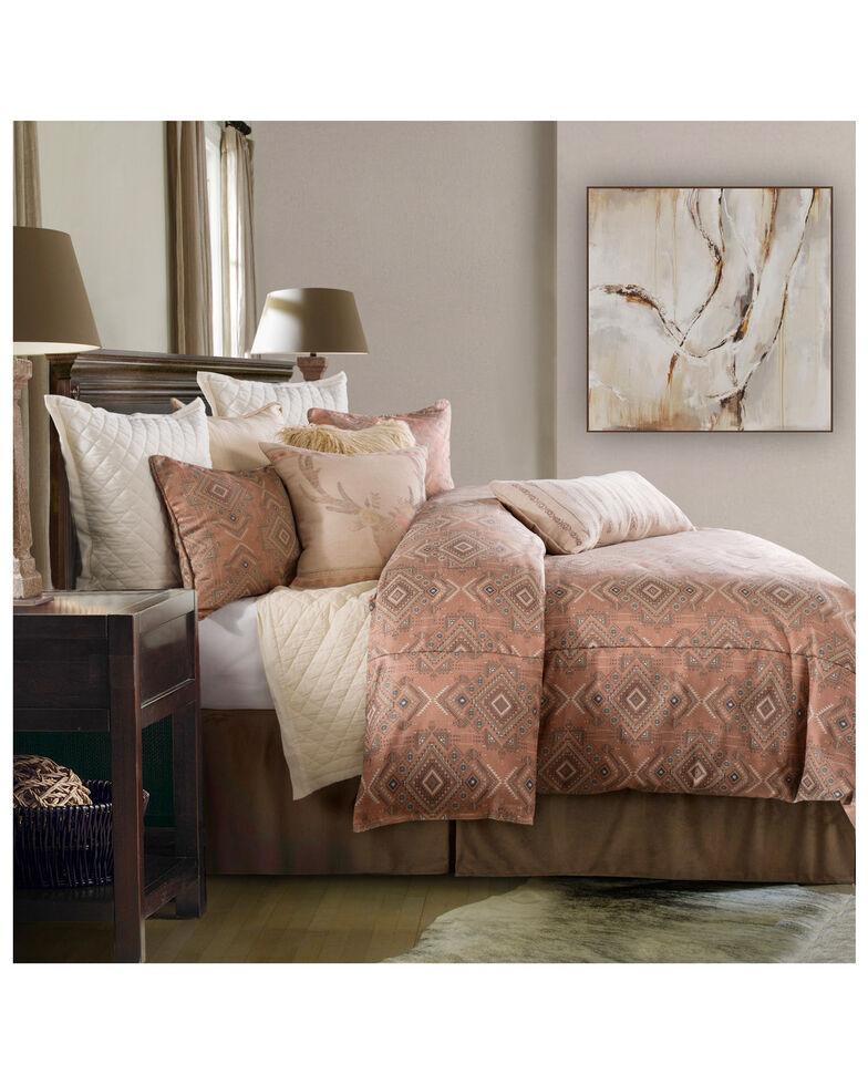 HiEnd Accents Super Queen 3 Piece Sedona Comforter Set, Pink, hi-res