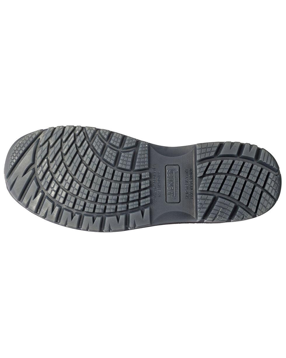 Avenger Men's Slip Resistant Work Shoes - Composite Toe, Brown, hi-res