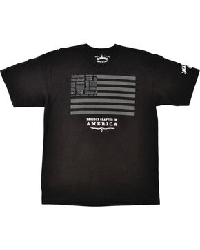 Jack Daniel's Men's Flag Tee, Black, hi-res