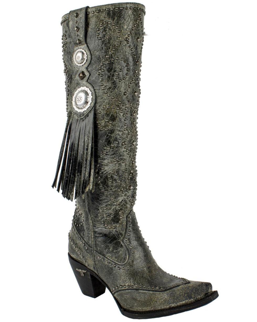 Lane Women's Conchita Western Boots - Snip Toe , Black, hi-res