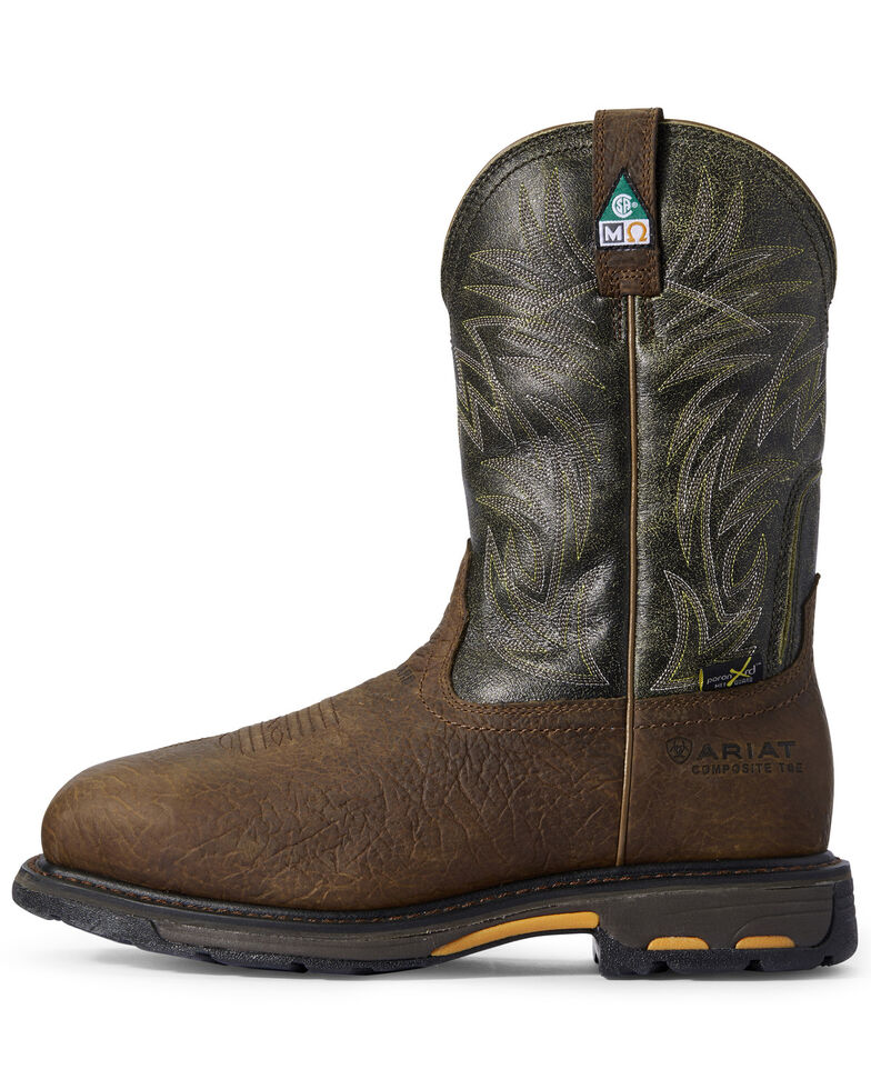 Ariat Men's WorkHog CSA Work Boots, Brown, hi-res