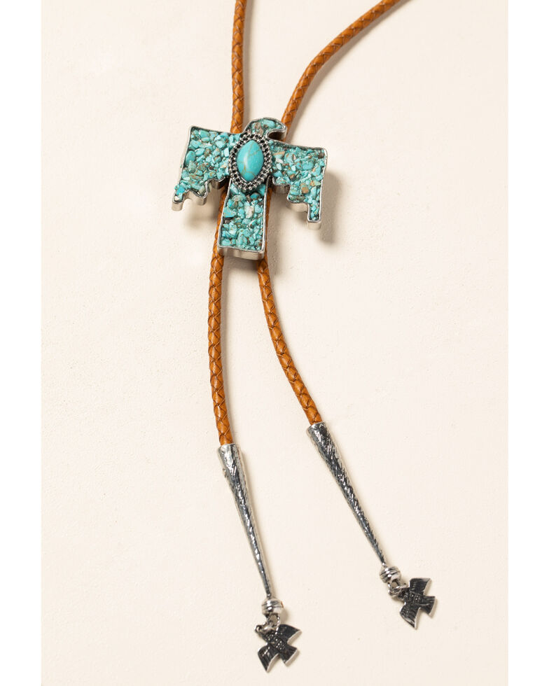 Idyllwind Women's Stick To The Plan Bolo Necklace, Turquoise, hi-res