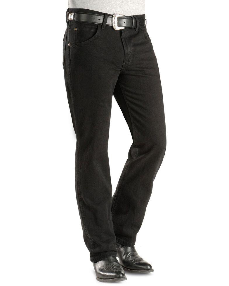 Wrangler Men's Slim Fit Premium Perfomance Jeans, Black, hi-res