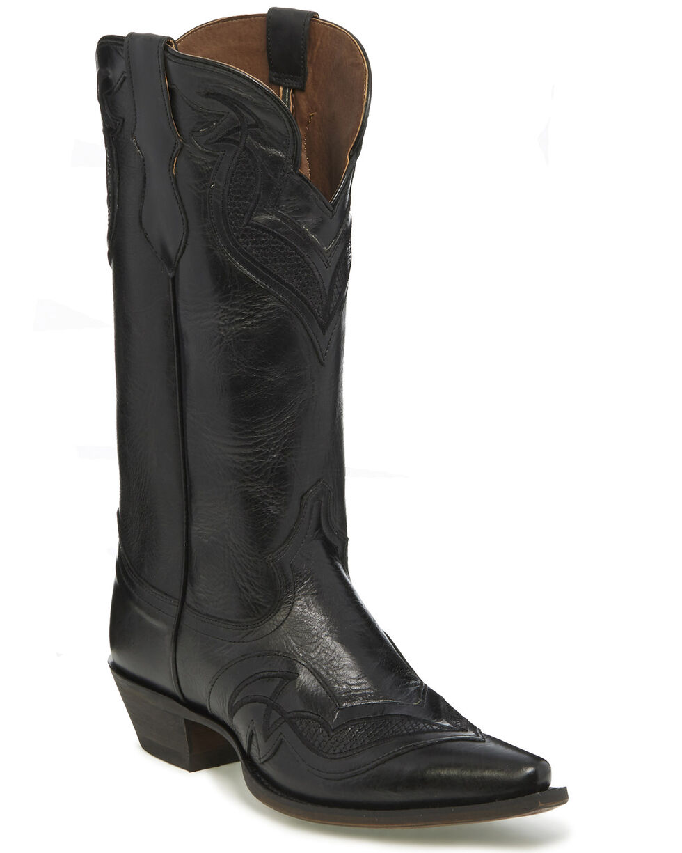 Justin Women's Nadya Western Boots, Black, hi-res