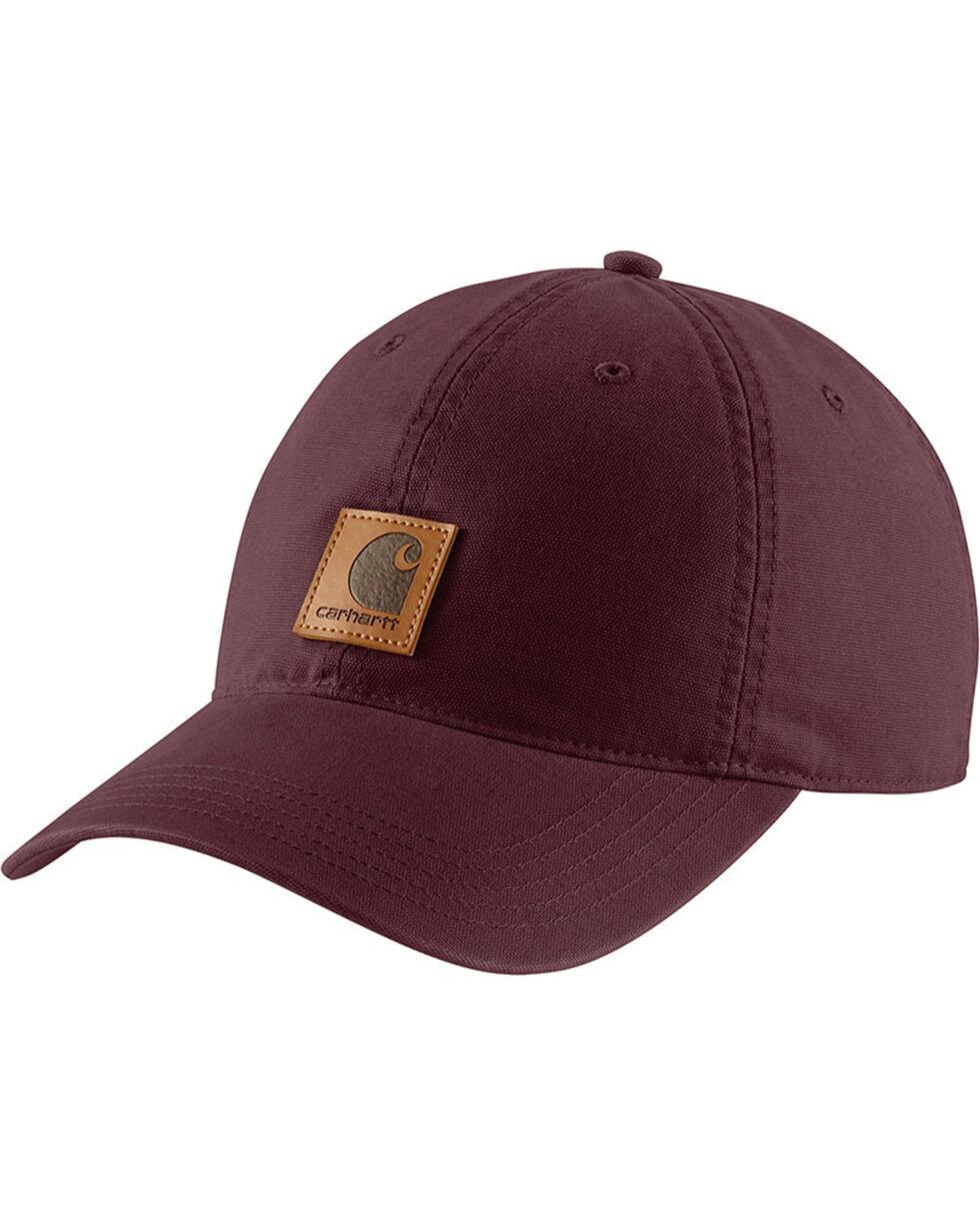 Carhartt Women's Odessa Baseball Cap, Wine, hi-res
