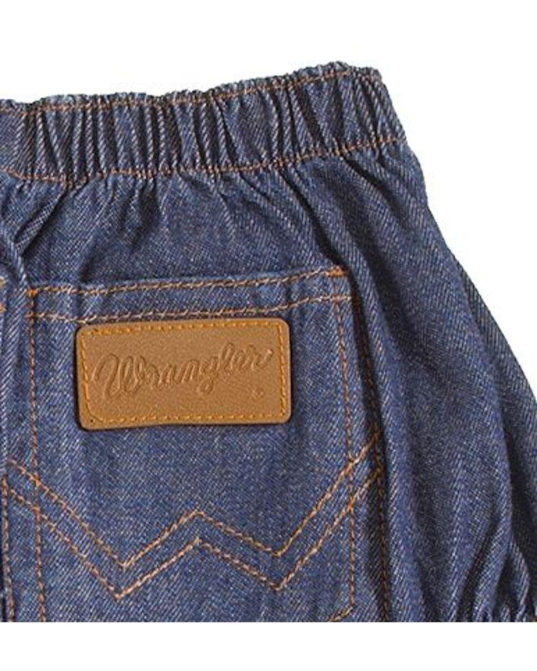 Wrangler Infant Diaper Cover Jeans, Indigo, hi-res