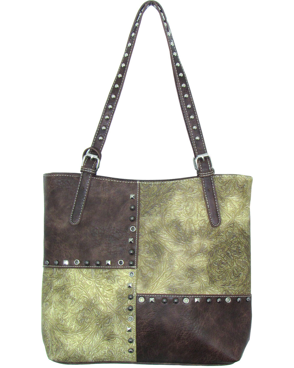 Savana Women's Faux Leather 3 in 1 Tote , , hi-res