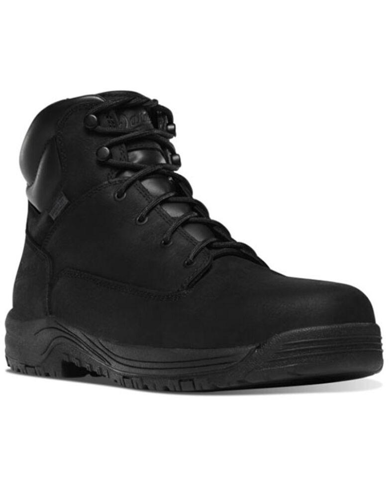 Danner Men's Caliper Waterproof Work Boots - Aluminum Toe, Black, hi-res