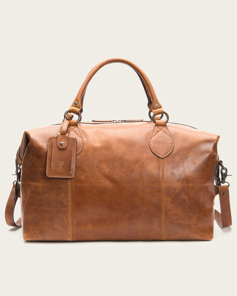 Frye Men S Logan Leather Overnight Bag Hi Res