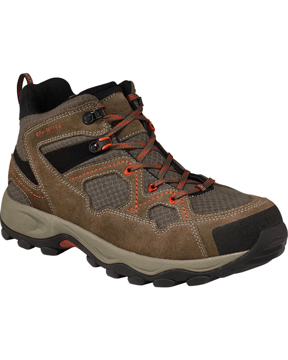 Irish Setter by Red Wing Shoes Men's Afton Hiker Work Boots - Safety Toe, Grey, hi-res