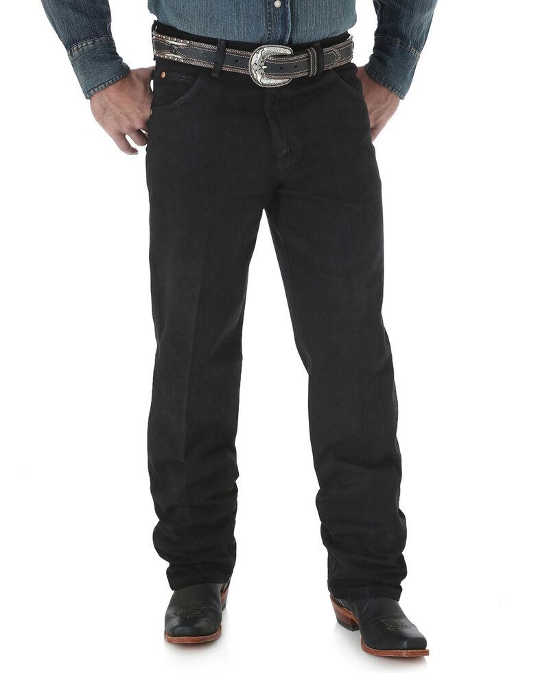 Wrangler Cowboy Cut Relaxed Fit Prewashed Jeans - Shadow Black, Shadow Black, hi-res