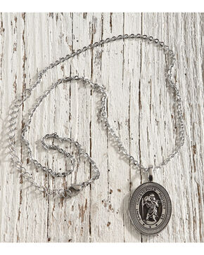 Cody James St. Christopher Medallion Necklace, No Color, hi-res