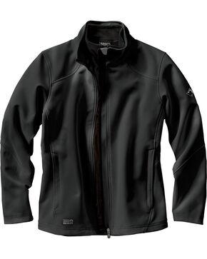 Dri Duck Women's Intensity Waterproof Softshell Jacket - Plus, Black, hi-res