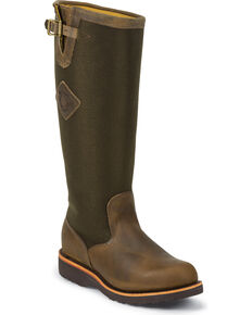 """Chippewa Men's 17"""" Snake Boots, Bay Apache, hi-res"""