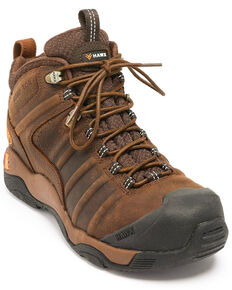 Hawx Men's Axis Hiker Boots - Nano Composite Toe, Brown, hi-res