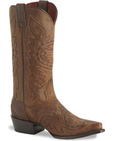 Dan Post Men's Sidewinder Western Boots, Bay Apache, hi-res