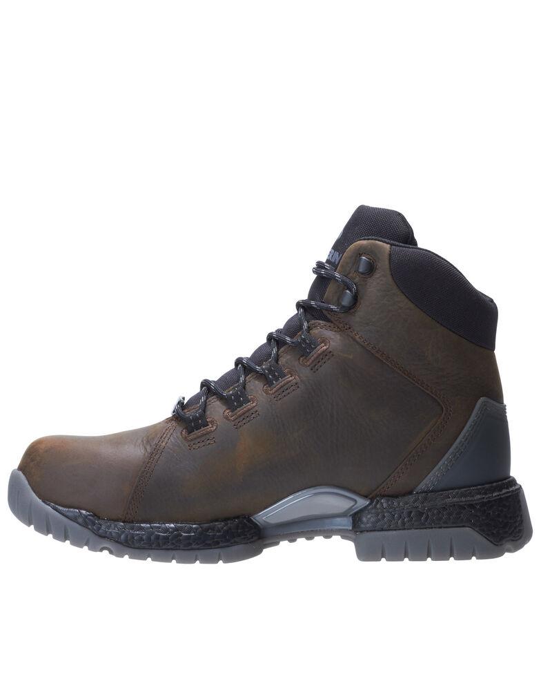 Wolverine Men's I-90 Rush Waterproof Work Boots - Composite Toe, Dark Brown, hi-res