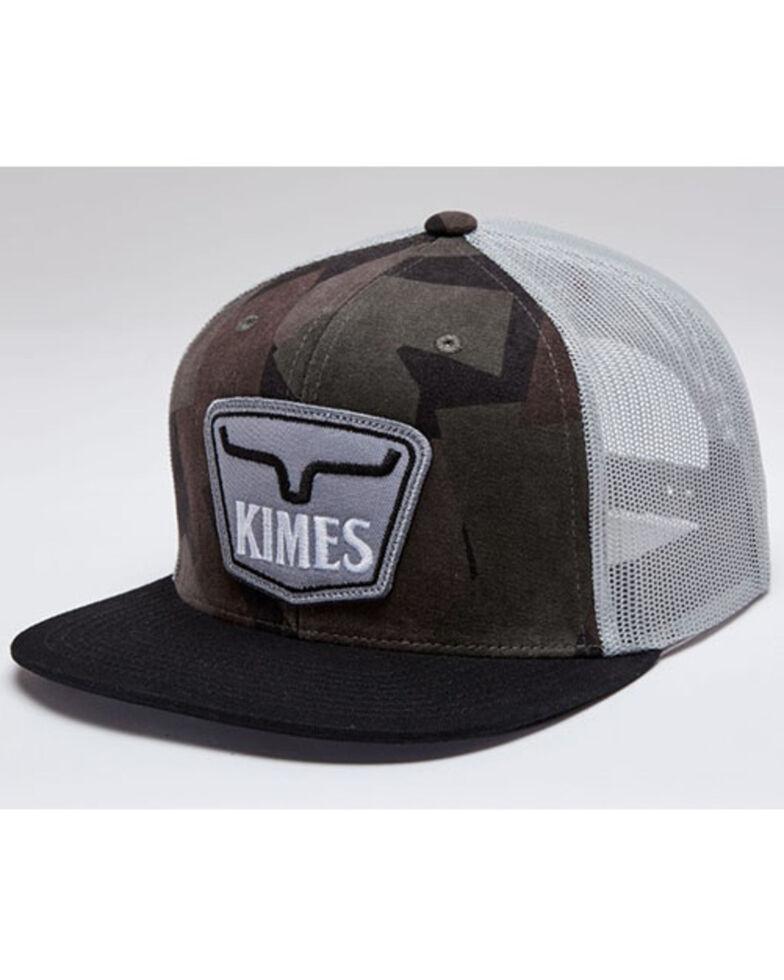 Kimes Ranch Men's Black & Camo Tall Boy Mesh-Back Ball Cap , Black, hi-res