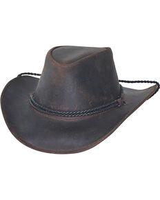 4ef156a11d0 Bullhide Men s Hilltop Premium Leather Cowboy Hat