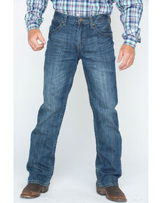 Cody James® Men's Dark Wash Slim Boot Cut Jeans, Blue, hi-res