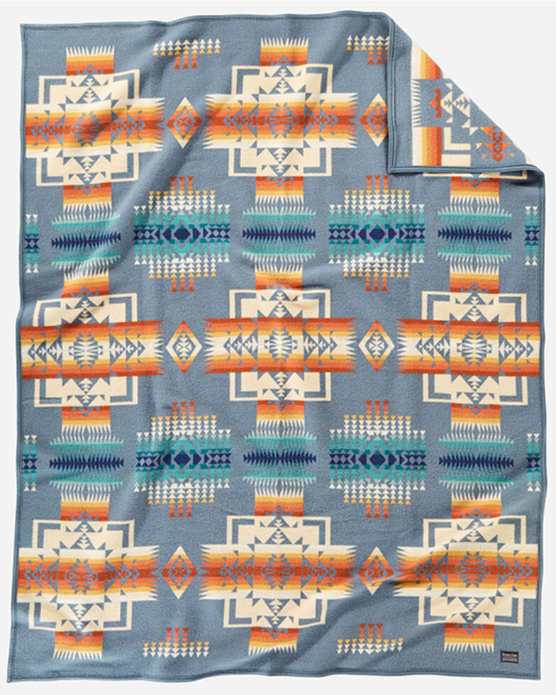 Pendleton Chief Joseph Blanket, Slate, hi-res