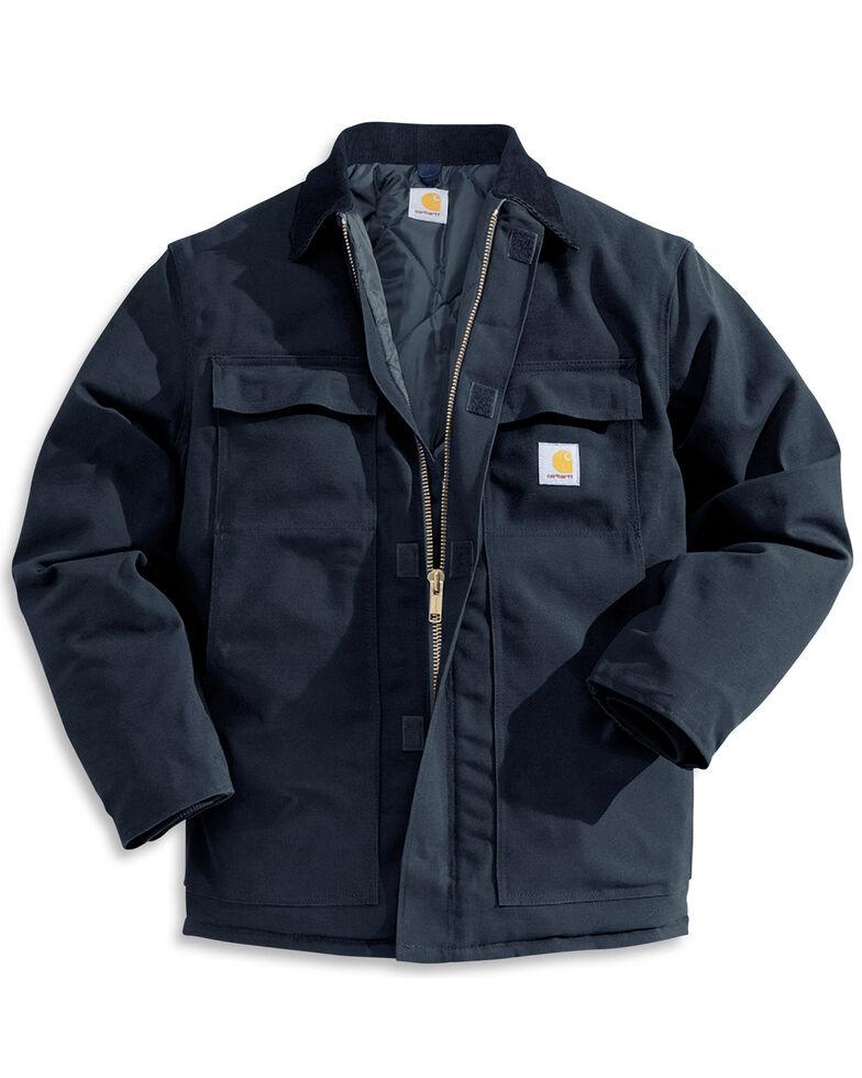 Carhartt Men's Duck Arctic Traditional Coat, Navy, hi-res