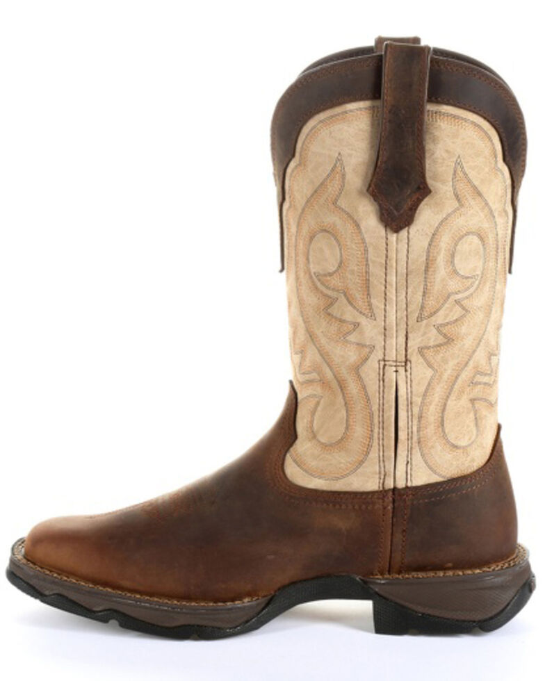 Durango Women's Lady Rebel Brown Western Boots - Square Toe, Bark, hi-res