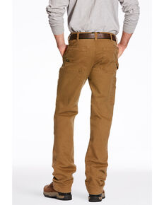 Ariat Men's Khaki Rebar M4 Washed Twill Dungaree Work Pants , Beige/khaki, hi-res