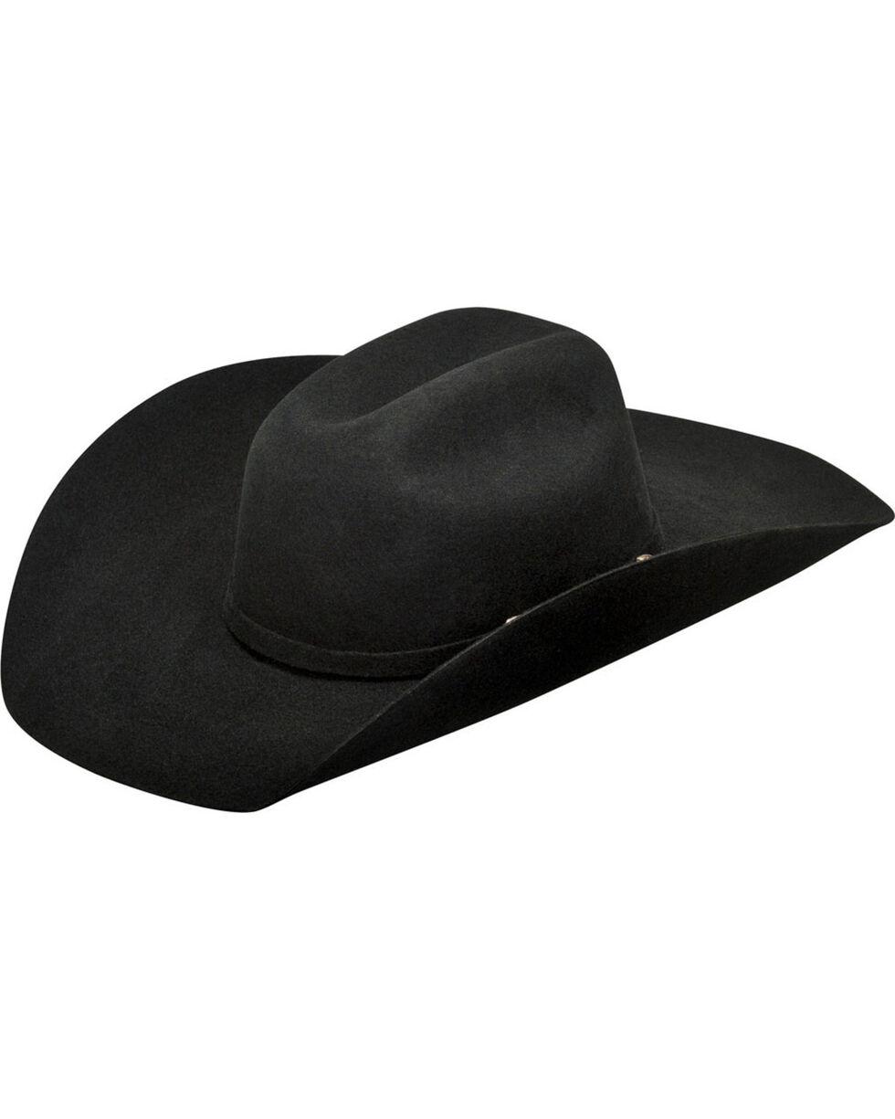 Ariat Youth Wool Hat, Black, hi-res