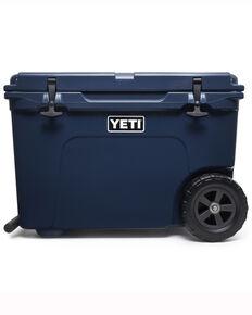 Yeti Tundra Haul Wheeled Navy Cooler, Navy, hi-res