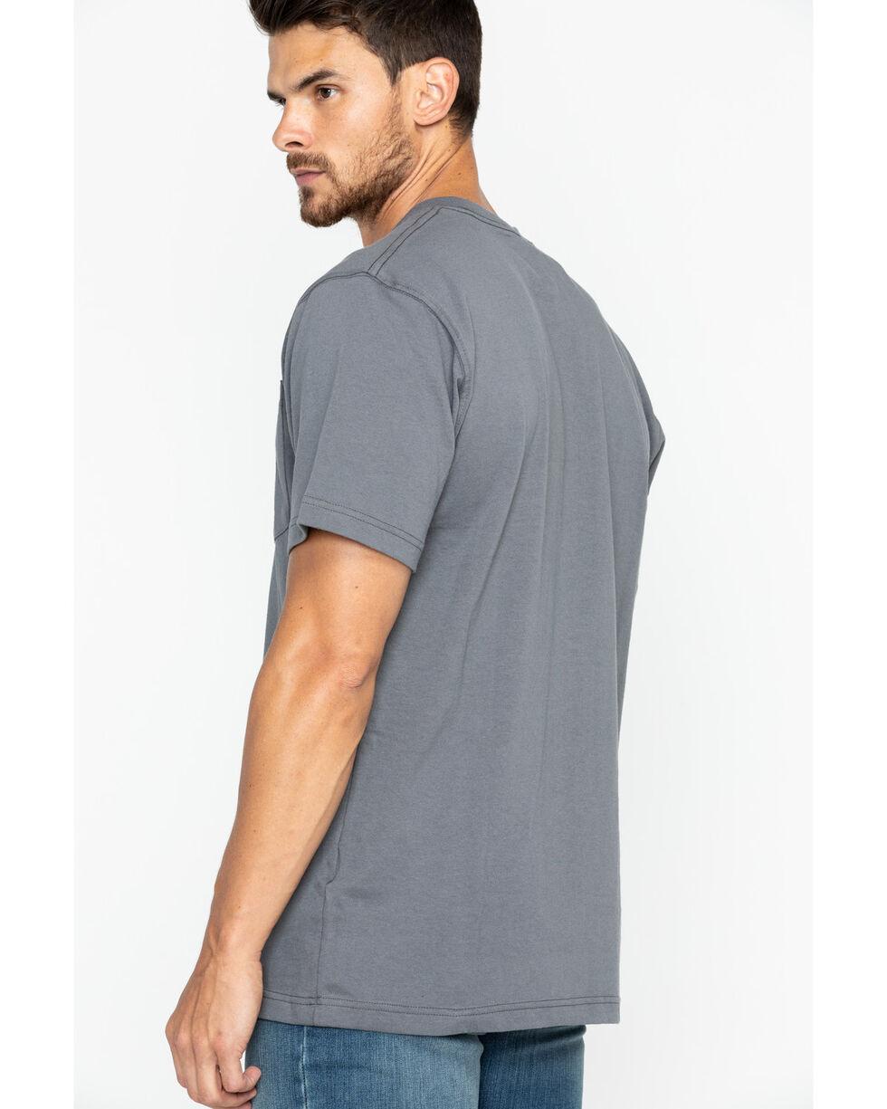 Carhartt Short Sleeve Pocket Work T-Shirt, Charcoal Grey, hi-res