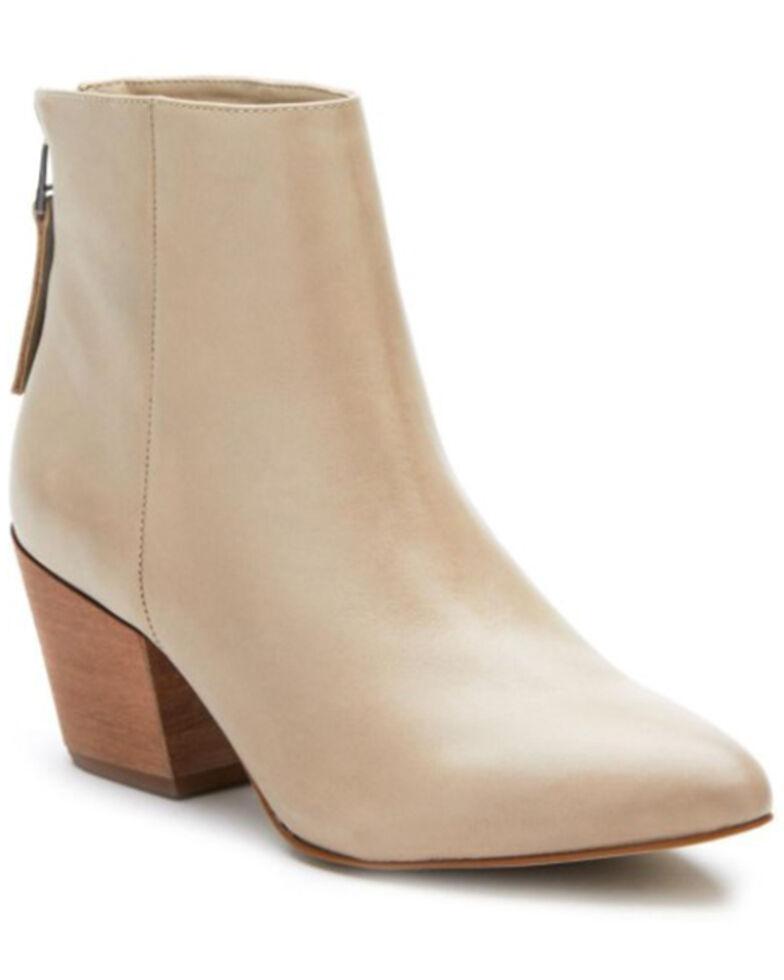Mattise Women's Croft Bone Fashion Booties - Pointed Toe, Cream, hi-res