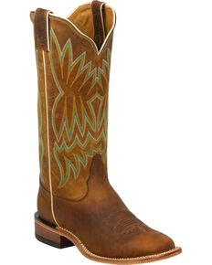 Tony Lama Women's Americana Western Boots, Honey, hi-res
