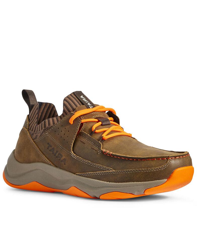 Ariat Men's Country Mile Hiker Boots - Moc Toe, Brown, hi-res