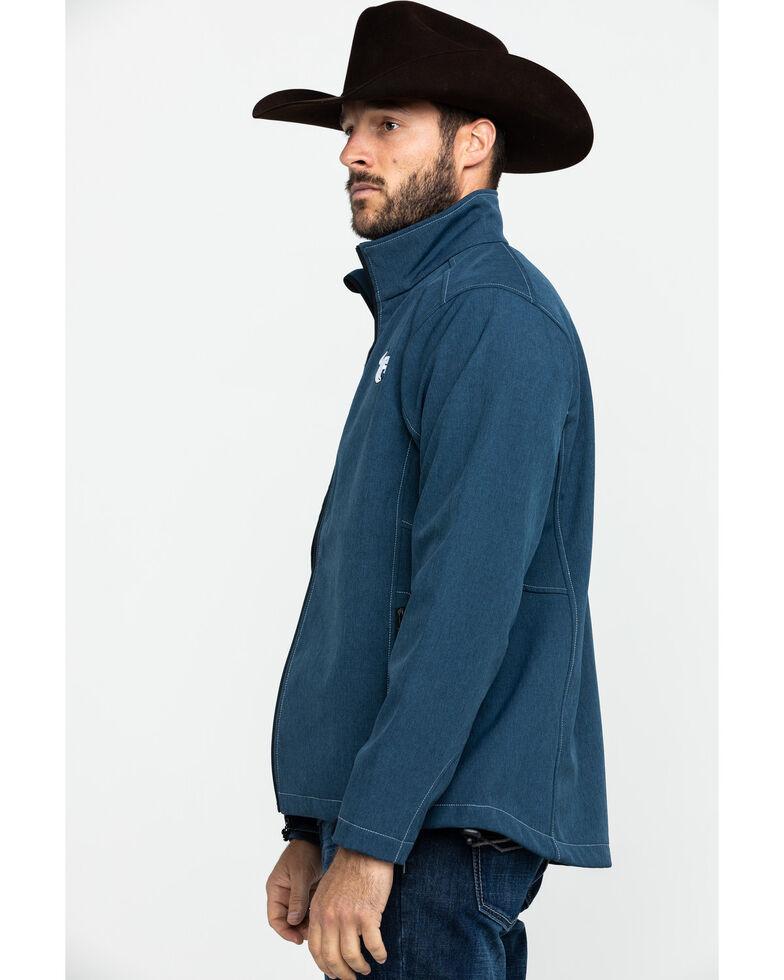 Cowboy Hardware Navy Men's Logo Poly Shell Jacket , Navy, hi-res